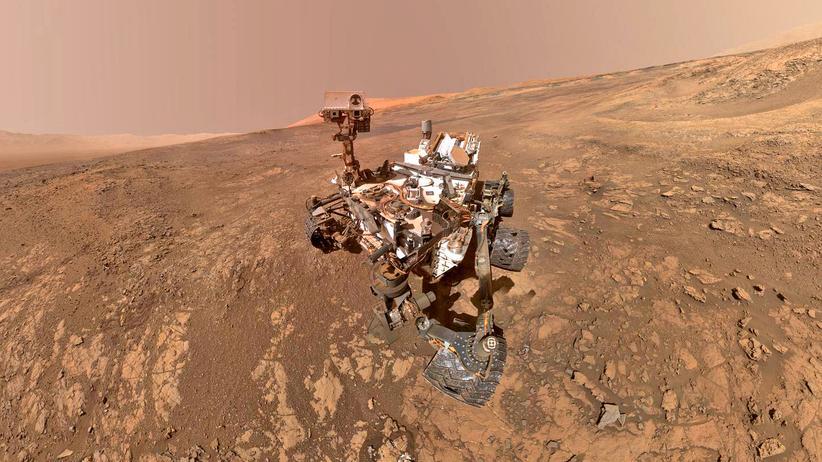 Mars: Wenn da nicht mal was los war!