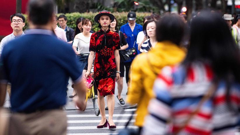 Weltgesundheitsorganisation: Xiaomi, eine transsexuelle Frau in Shanghai
