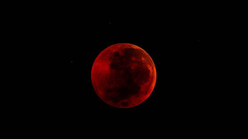 Mondfinsternis: 103 Minuten Blutmond