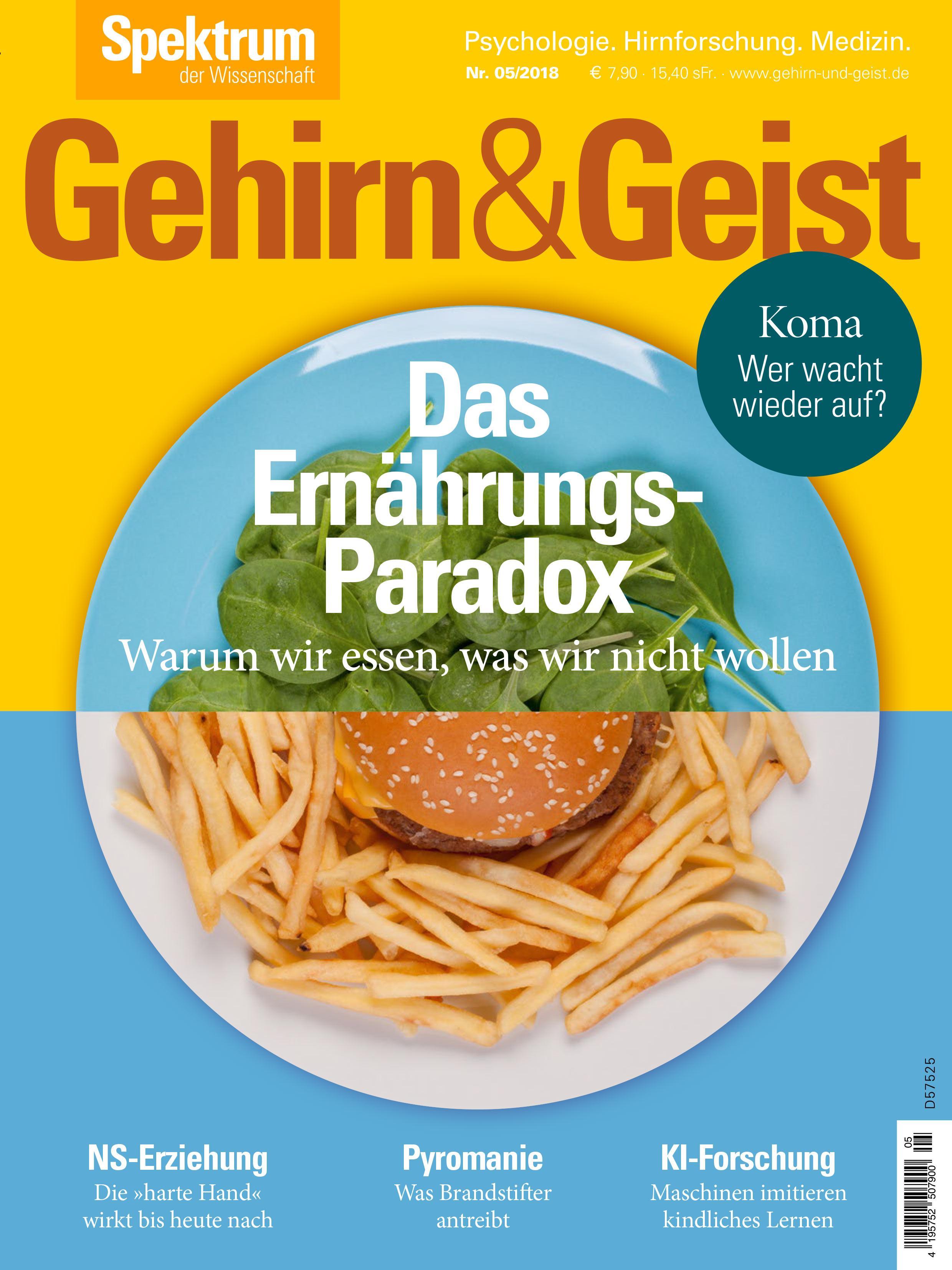 """NS-Geschichte: Dieser Artikel erschien zuerst in """"Gehirn&Geist"""" 5/2018."""