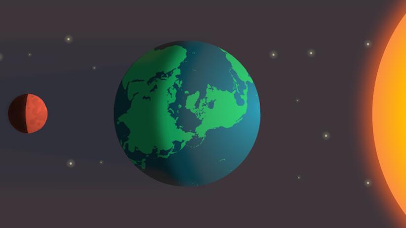 Totale Mondfinsternis: Der Mond sieht rot