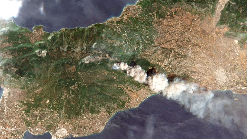 """Waldbrände in Griechenland: """"Der tödlichste Faktor ist der Wind"""""""