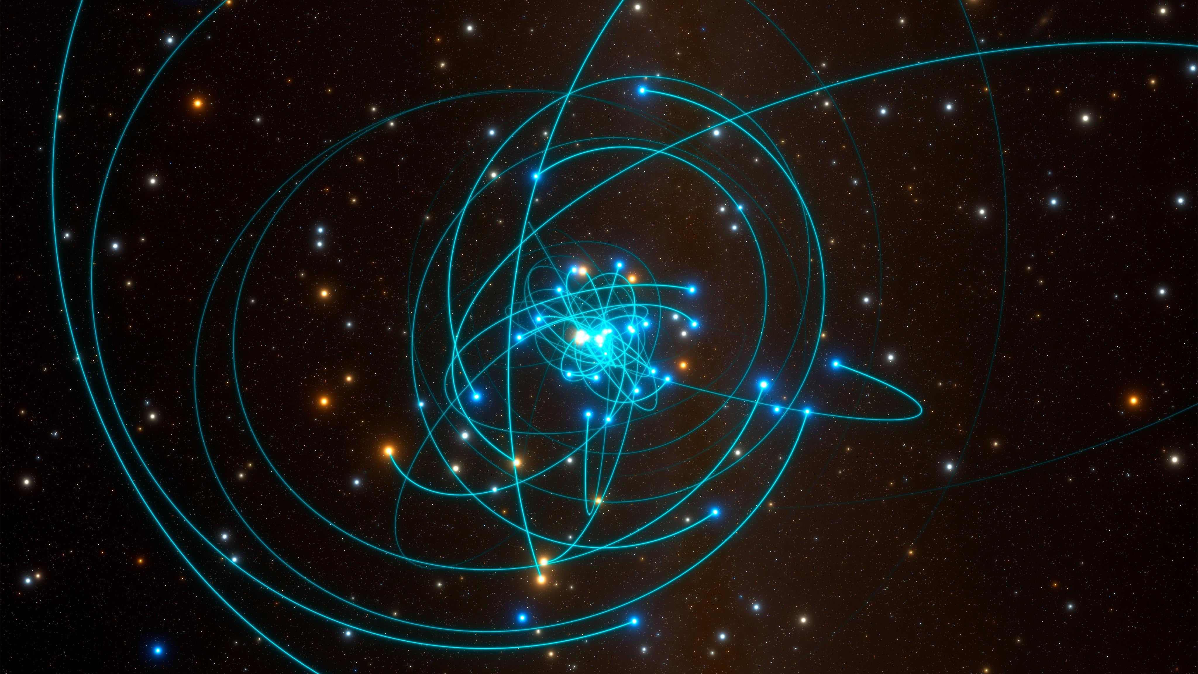 Schwarzes Loch bestätigt Albert Einstein