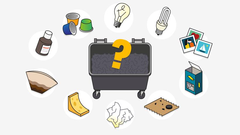 Mülltrennung: Wissen Sie, was in welche Tonne gehört?