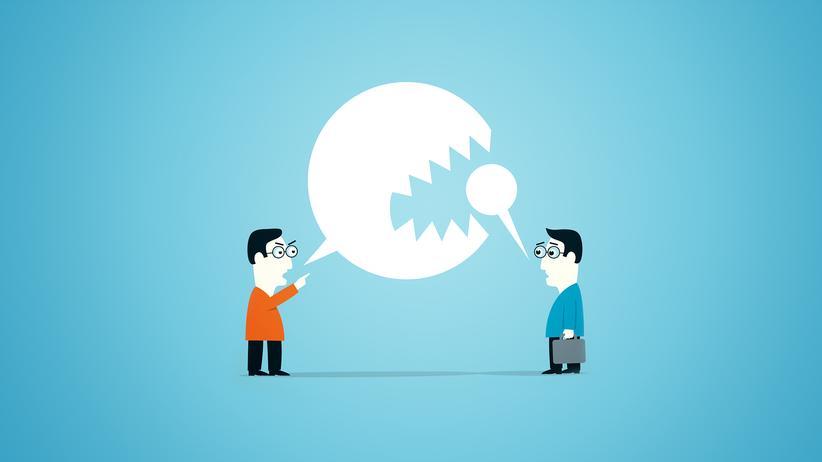 Gesprächsführung: Lassen Sie mich ausreden!