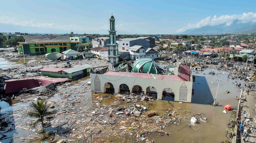 """Tsunami in Sulawesi: """"Es blieben 20 Minuten von der Warnung bis zur Welle"""""""