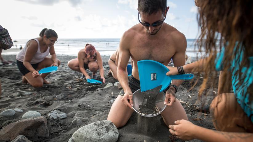 Plastikmüll: Forscher finden erstmals Mikroplastik in Stuhlproben von Menschen
