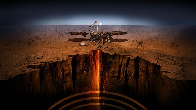 Mars-Sonde Insight: Ein Maulwurf zieht auf den Roten Planeten