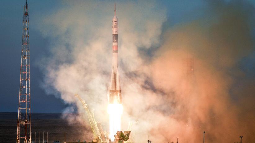 Raumstation ISS: Drei Raumfahrer erfolgreich zur ISS gereist