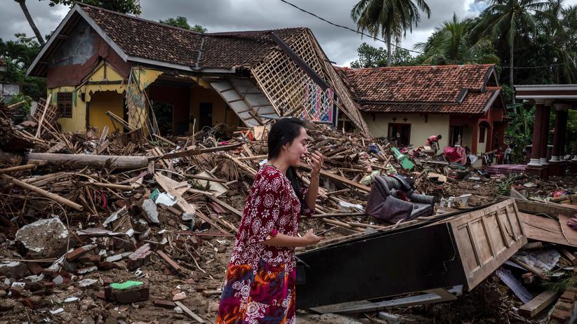 """Tsunami in Indonesien: """"Es gab keine Warnung. Das macht mich sehr betroffen"""""""