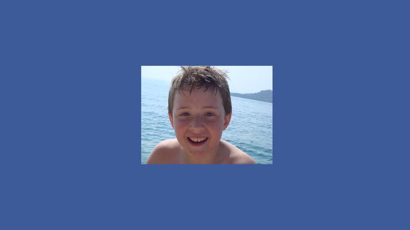 Drogen: Der neunjährige Josh im Italien-Urlaub, Mai 2007