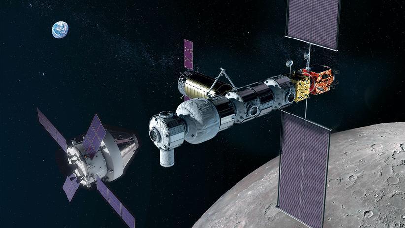 Lunar Orbital Platform-Gateway: Bis zum Mond und noch viel weiter