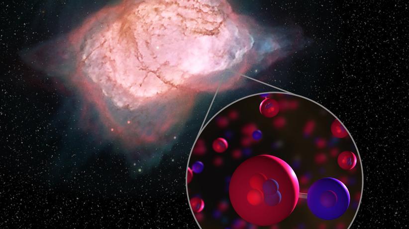 Weltraum : Astronomen entdecken Molekül vom Ursprung des Universums