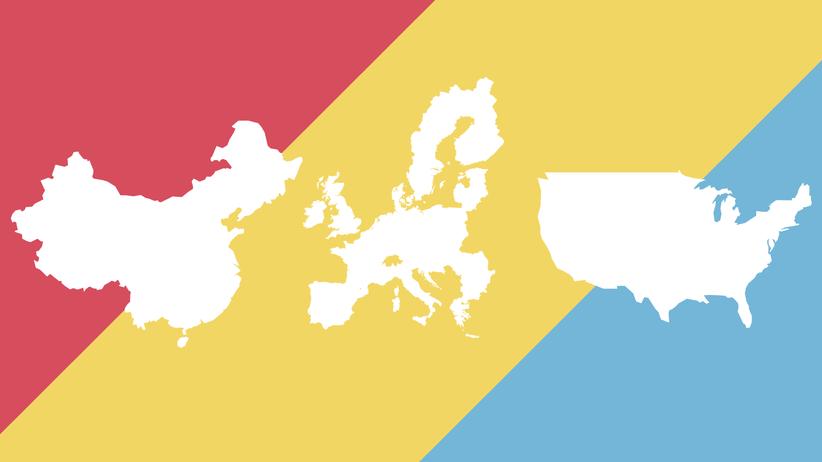 Europäische Union: Weltmächte im Vergleich