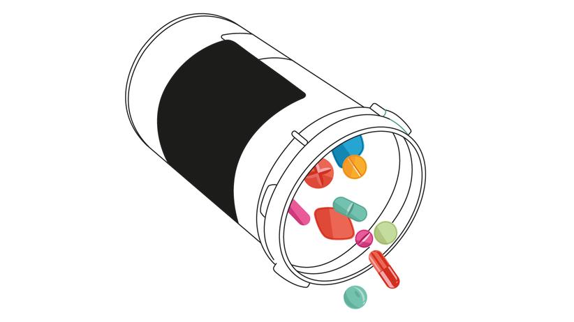 Medikamente: Her mit den Pillen!