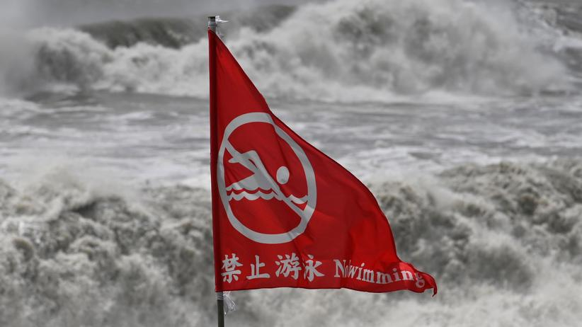 China: Behörden rufen höchste Warnstufe wegen Taifun Lekima aus