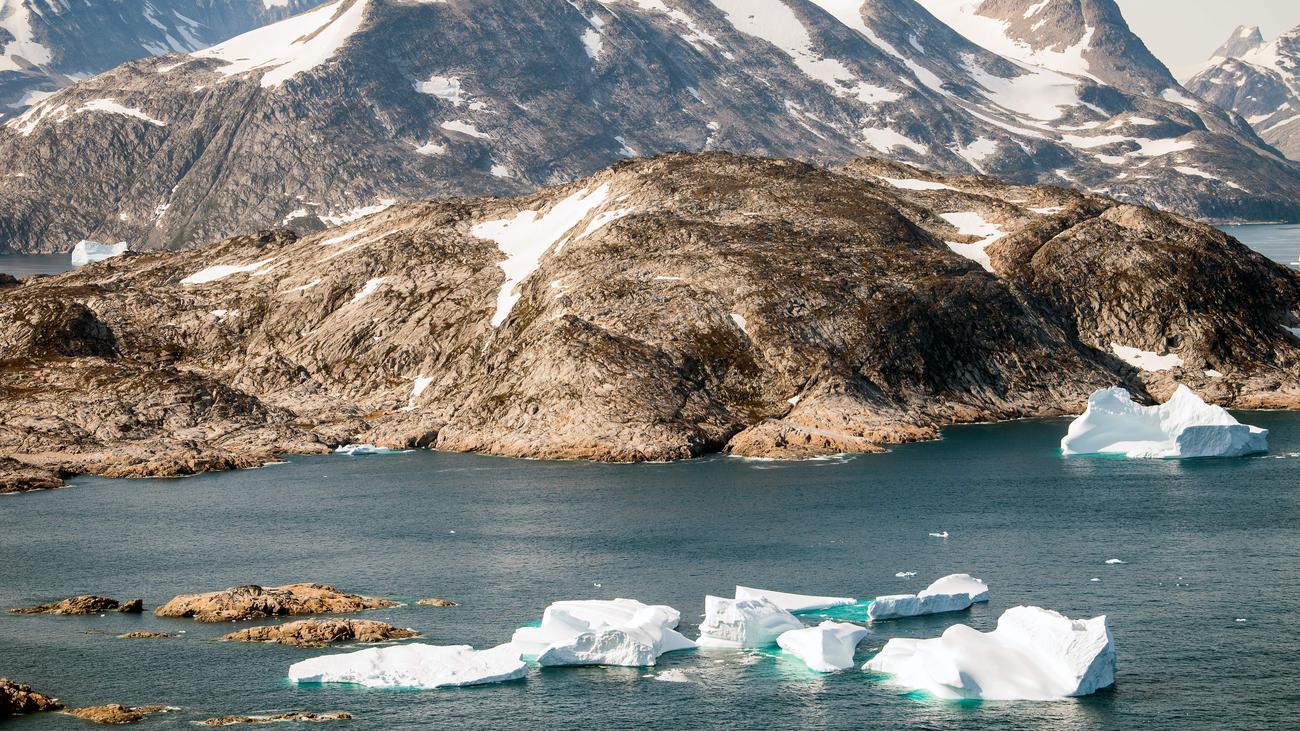 Klimawandel: Meereisfläche in der Arktis stark geschrumpft