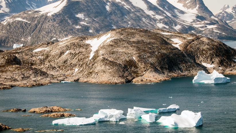 Meereisfläche in der Arktis stark geschrumpft