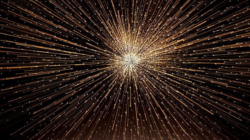 Physiknobelpreis: Der Urknall glüht nach. Das hat der Physiknobelpreisträger James Peebles zwar nicht gemessen, aber immerhin vorhergesagt.
