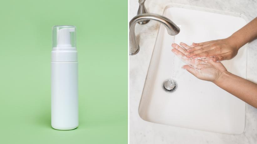 Desinfektionsmittel: Sowohl Desinfektionsmittel als auch Seife können dabei helfen, sich vor einer Coronavirus-Infektion zu schützen.
