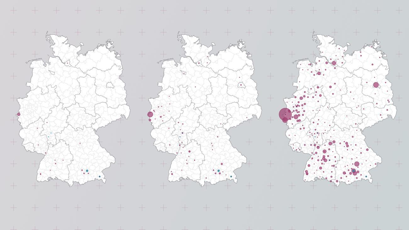 Corona In Deutschland Map