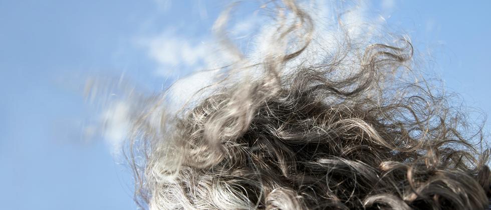 Graue Haare und Stress • Das Beste aus Z+: Können graue Haare ihre Farbe zurückbekommen?