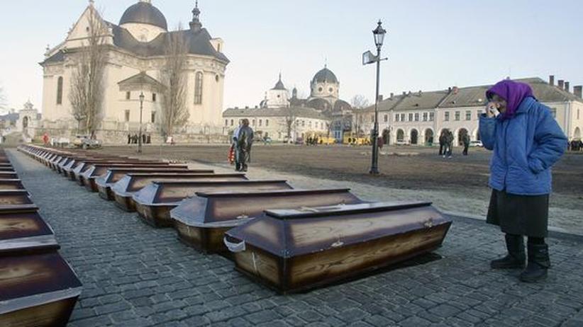 Gedenken an den Holodomor in der Ukraine