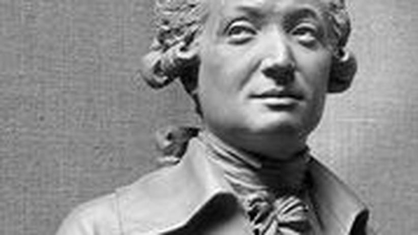 französischer Philosoph und Revolutionär Marquis de Condorcet Büste von Jean-Antoine Houdon