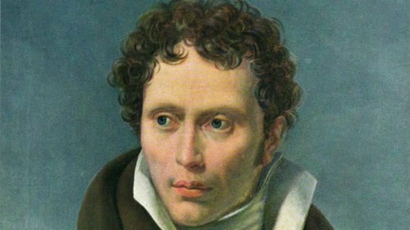 Das Porträt zeigt den Philosophen Arthur Schopenhauer