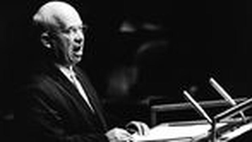Kalter Krieg: Schlug Chruschtschow wirklich mit dem Schuh zu?