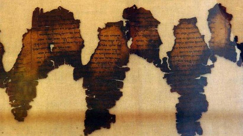 Fragmente der Schriftrollen von Qumran, Totes Meer