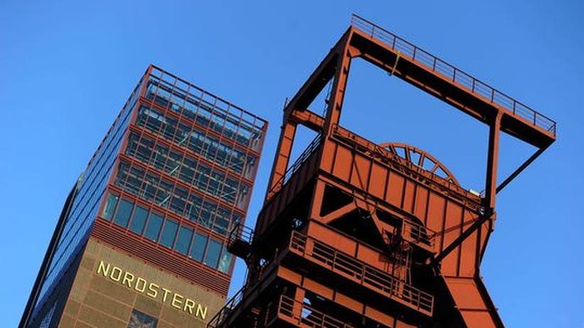 Überbleibsel der Nordstern-Kohlemine in Gelsenkirchen