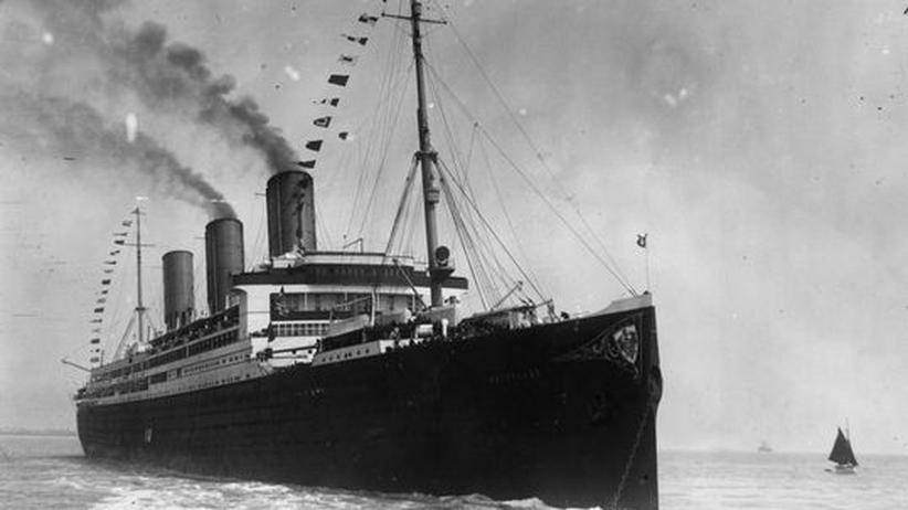 Vaterland Passagierschiff 1914