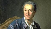 Ein Gemälde des Schriftstellers Denis Diderot aus dem 18. Jahrhundert