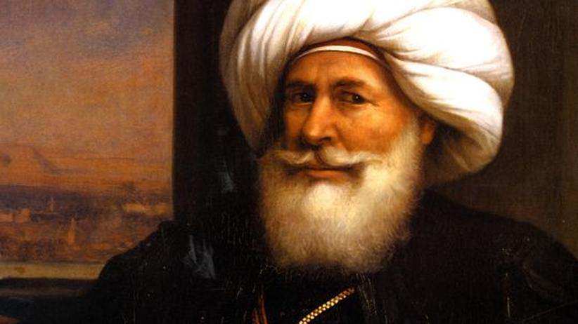 Mehmed Ali Pascha, Gemälde von Auguste Couder, 1841