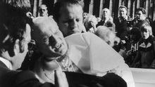 Papst Johannes Paul II Rom Vatikan Attentat 1981