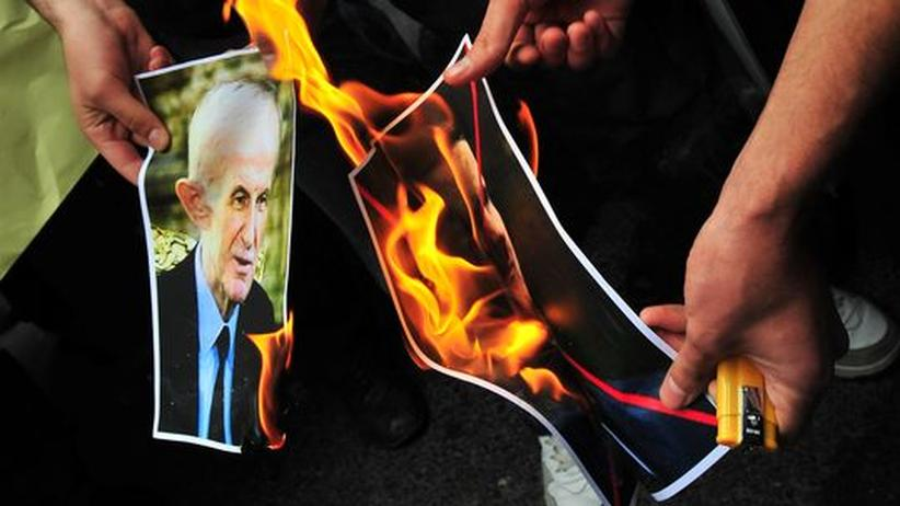 Hafis al-Assad Baschar Syrien Proteste Massaker Hama