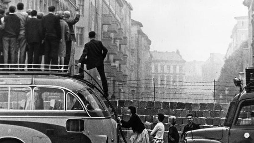 """Geschichte des Mauerbaus: """"Niemand hat die Absicht, eine Mauer zu errichten"""""""