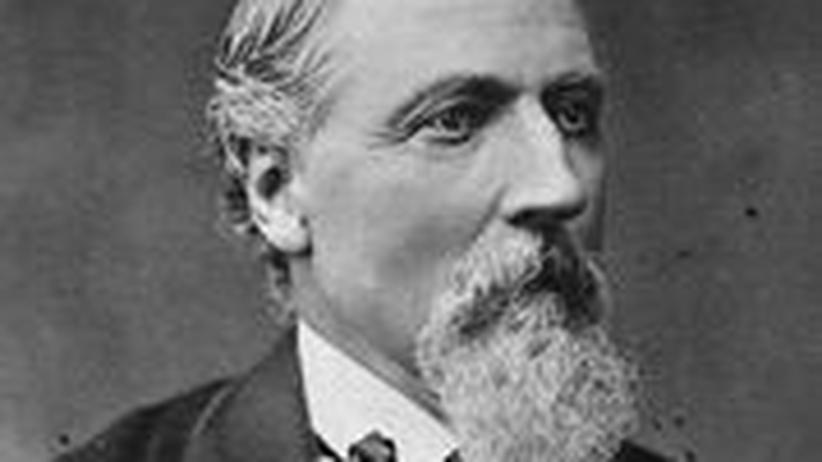 Friedrich Hecker auf einem Fotoporträt aus den 1870er Jahren