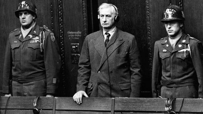 Nürnberger Prozesse Friedrich Flick 1947