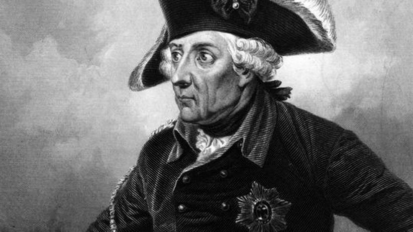 Friedrich der Große: Friedrich II. von Preußen auf einem Gemälde von 1775