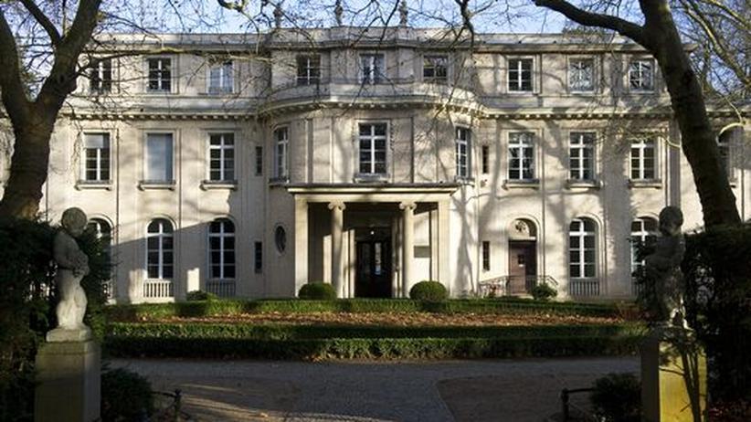 Die Villa am Wannsee heute (2012). Im Januar vor 70 Jahren berieten hier Nazi-Spitzen über deie Ausweitung des Holocaust.