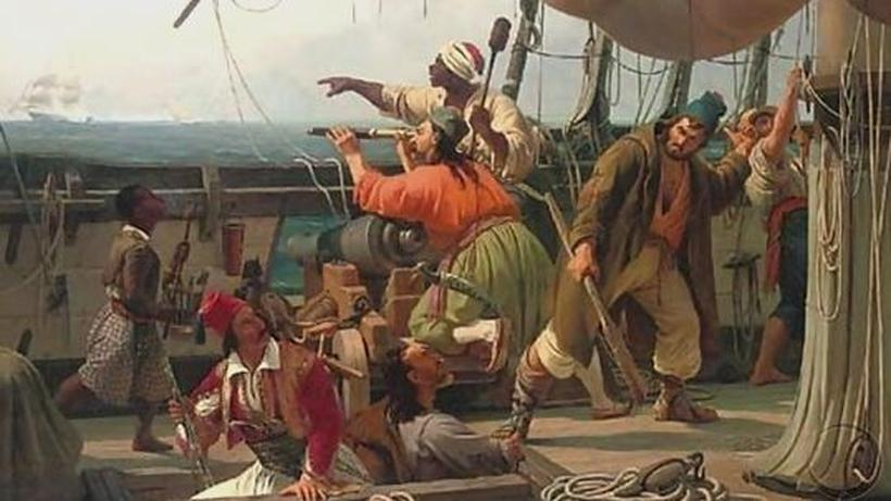 Sklavenmarkt in der antike