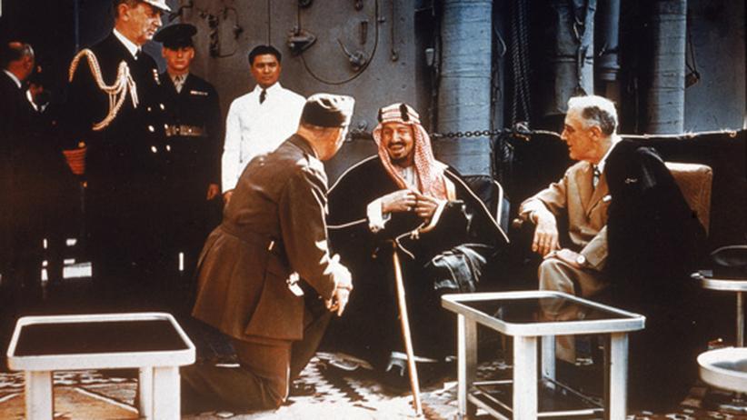 Internationale Beziehungen: Die seltsame Freundschaft von Amis und Saudis