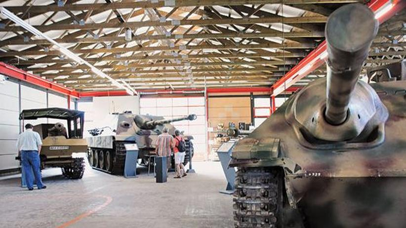 Panzer, Panzer, Panzer: Das Bundeswehrmuseum in Munster lockt Technikfans aller Art.