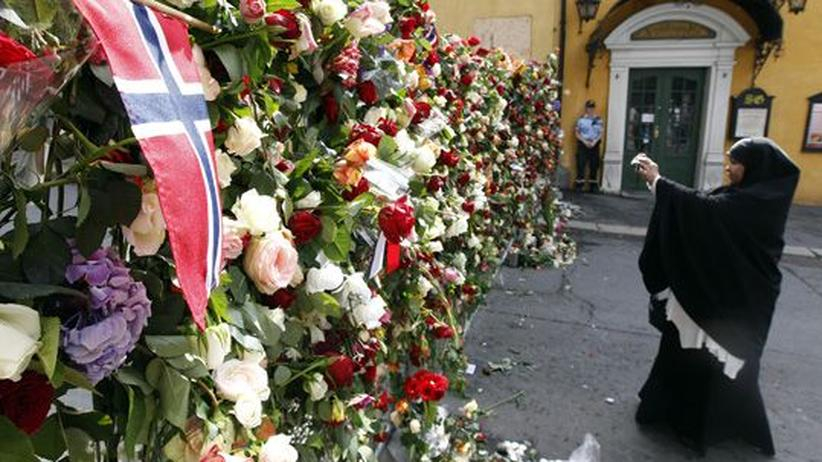 """Breivik-Attentat: """"Gegen den Hass"""""""