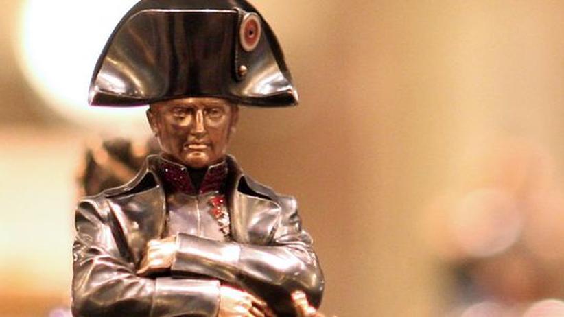 Schachfiguren Napoleon St. Petersburg Russland 1812
