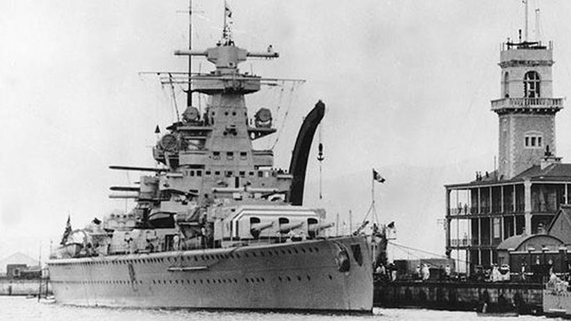 Admiral Scheer Almería Bunker