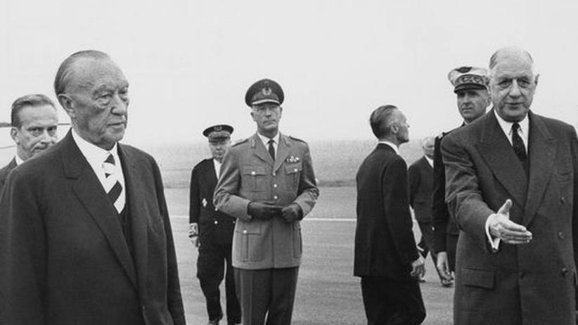 Konrad Adenauer Charles de Gaulle