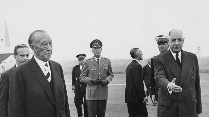 50 Jahre Élysée-Vertrag: Der erste dicke Streit unter Freunden